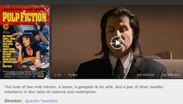 IMDb Pulp Fiction Film Review